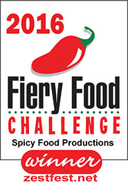 2016 Fiery Food Challenge Winner