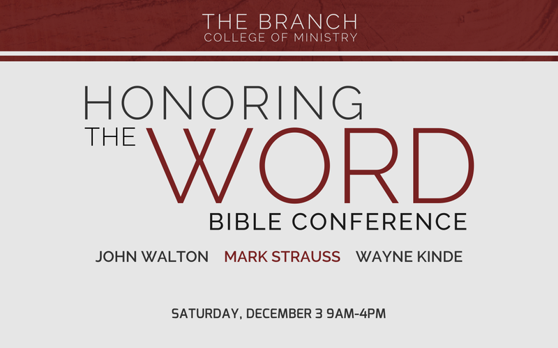 Honoring the Word Bible Conference
