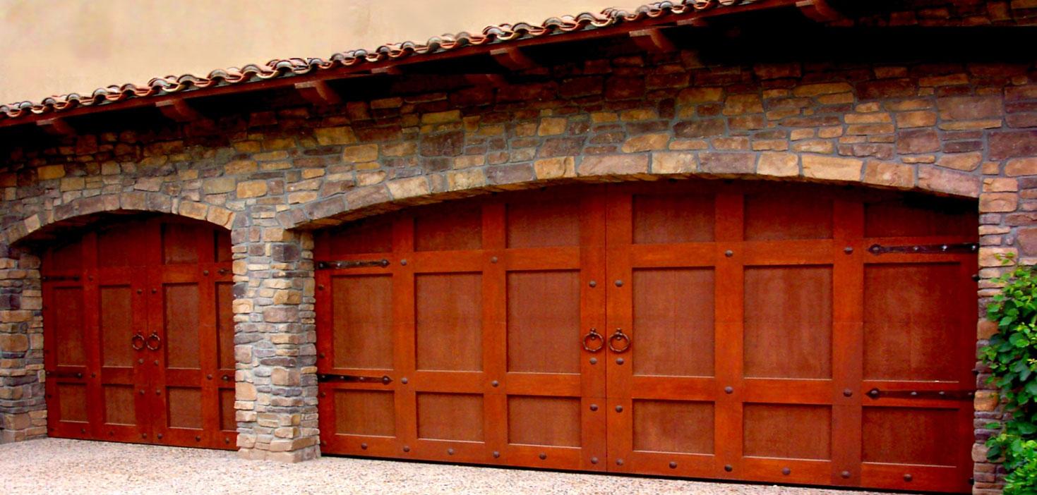 Modern Custom Wood Garage Door Service Best Garage Door Company In
