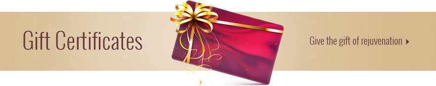 Gift Certificates - Give the gift of rejuvenation