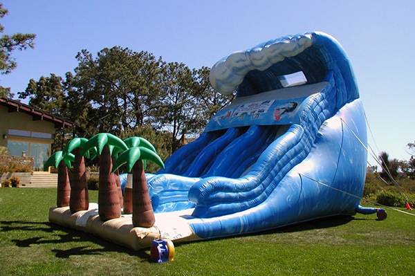 Giant 29' Tsunami Wave Slide