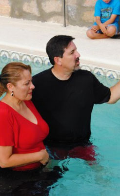 Horizon El Paso Baptism