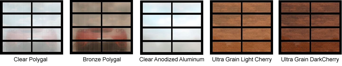 Aluminum/Glass, Avante Collection