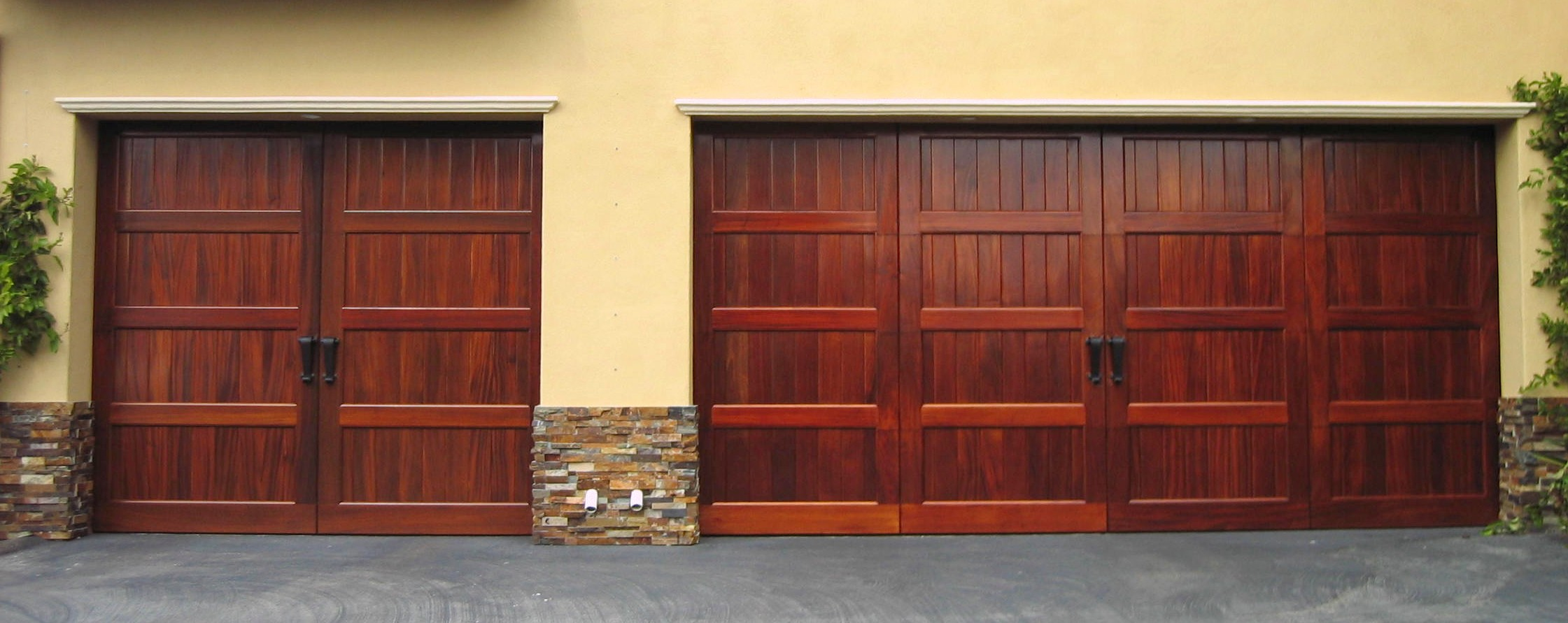 Wood-Custom-Garage-Door-San-Diego-by-Radford-Garage-Doors